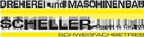 Logo: Dreherei und Maschinenbau Scheller Schweißfachbetrieb