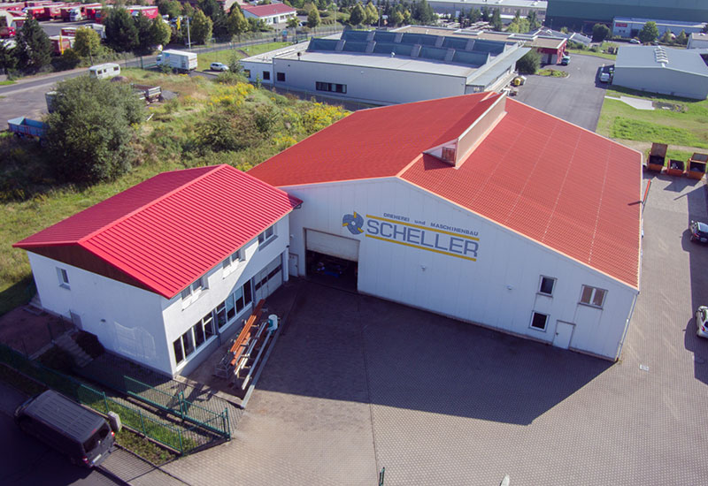 Maschinenhalle Luftbild